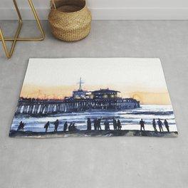 Santa Monica Pier Rug
