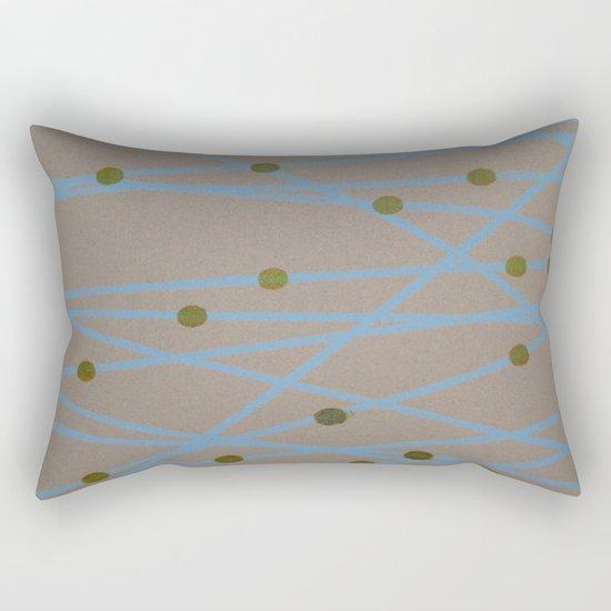 Screen Print design Rectangular Pillow