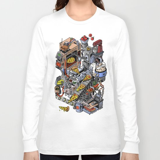Pizza Machine Long Sleeve T-shirt