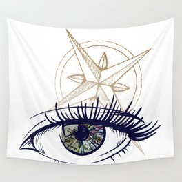 Eyes on the Horizon Wall Tapestry
