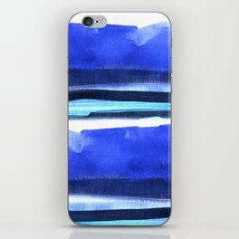 Wave Stripes Abstract Seascape iPhone Skin