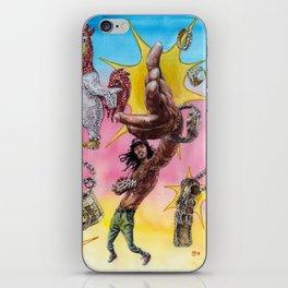 Waka Flocka Fire and Ice iPhone Skin