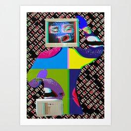 King of Computer  Art Print
