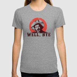 Curly Bill in Black Stencil  T-shirt