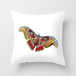 Butterfly art Throw Pillow