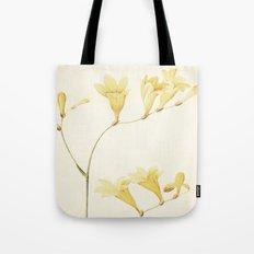 IV. Vintage Flowers Botanical Print by Pierre-Joseph Redouté - Sisyrinchium Collinum Tote Bag