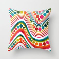 datastream sixty-seven Throw Pillow