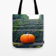 Stairway pumpkin Tote Bag