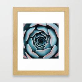 Nature Geometry Framed Art Print