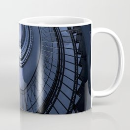 Blue spiral staircase Coffee Mug