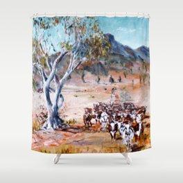 Australia 'Homeward Bound'           by Kay Lipton Shower Curtain