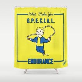 Endurance S.P.E.C.I.A.L. Fallout 4 Shower Curtain