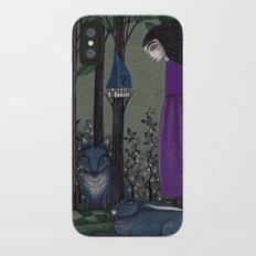 There is a Place in the Woods... Slim Case iPhone X
