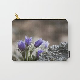 Cluster of Pasque Flowers Carry-All Pouch