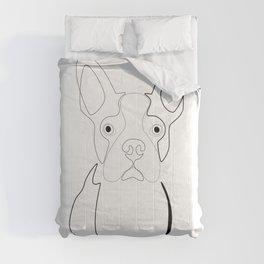 Boston Terrier Comforters