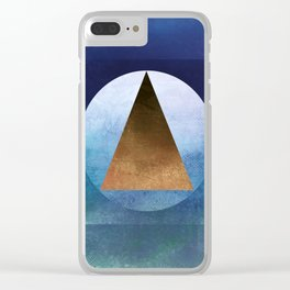 Suprematist Composition II Clear iPhone Case