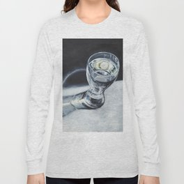 Glass of the water in the light Long Sleeve T-shirt