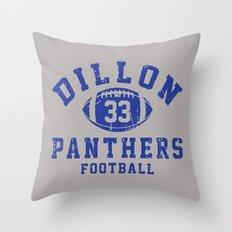 dillon panthers football #33 Throw Pillow
