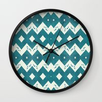 mustang Wall Clocks featuring Mustang Sally by Bunhugger Design