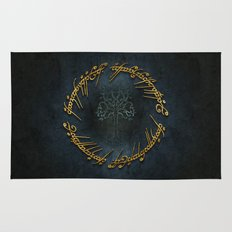The Lord Of The Rings Logo Rug