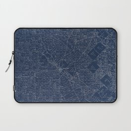Map Of Dallas 1884 Laptop Sleeve