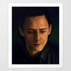 Prince of Asgard Art Print