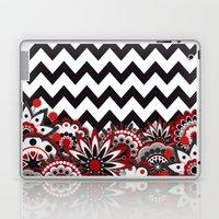 Floral Chevron. Laptop & iPad Skin
