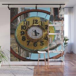 Hotel Clock Wall Mural