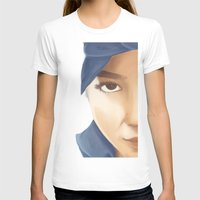 tupac T-shirts featuring Makaveli Aiko by Rey Lallave