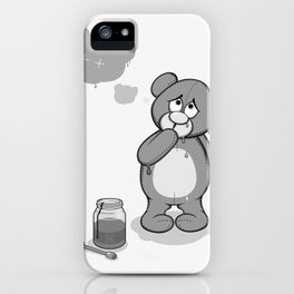 Critter Alliance - Teddy Day Trip iPhone Case