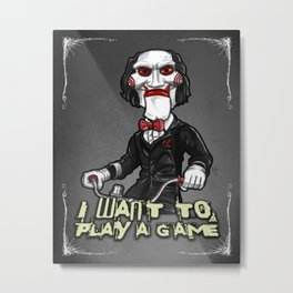 Billy Metal Print