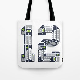 Seattle 12th Man Tote Bag