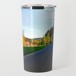 Country road on a spring afternoon | landscape photography Travel Mug