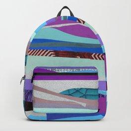 Purple and Blue Sky Backpack