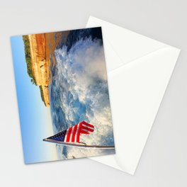Pictured Rocks Flag Stationery Cards