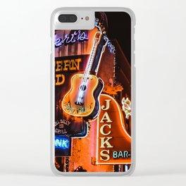 Nashvegas Clear iPhone Case