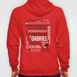 Supernatural - Gabriel Quotes Hoody