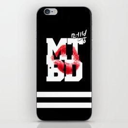 CL MTBD iPhone Skin