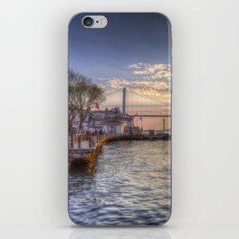 Istanbul Turkey Bosphorus iPhone Skin