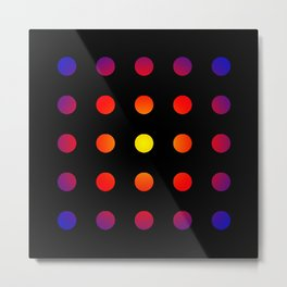 twentyfive dots o2 Metal Print