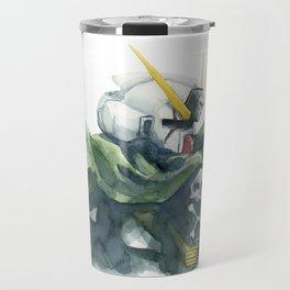 Crossbones - Mobile Suit Gundam Watercolor Travel Mug