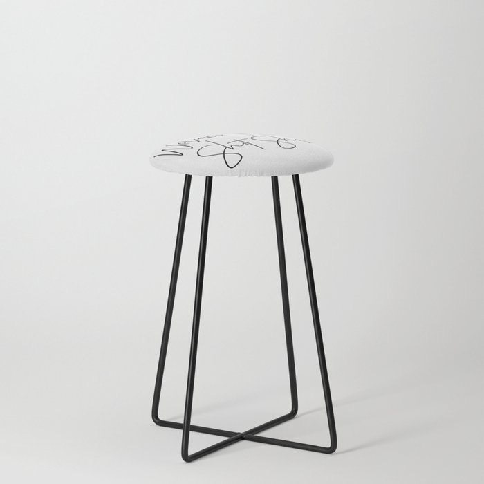 Welcome to the Shit Show Counter Stool
