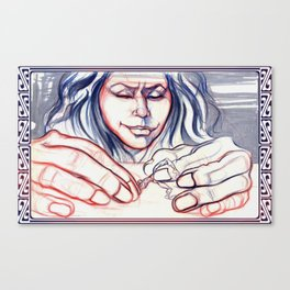 Fondle Canvas Print