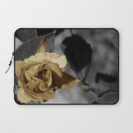 Silver and Gold Laptop Sleeve
