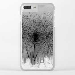 ...But With a Whimper Clear iPhone Case