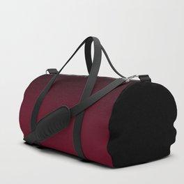 Brown, red , gradient Duffle Bag