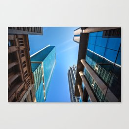 Monumental Skyscrapers in Sydney Canvas Print