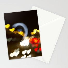 Love Along the Champs Elysees Stationery Cards