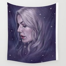 Stars Fall Silent Wall Tapestry