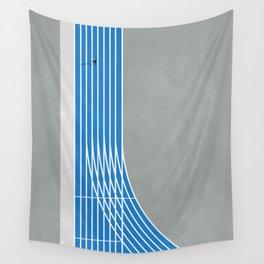 Finish Line Sprinter  Wall Tapestry